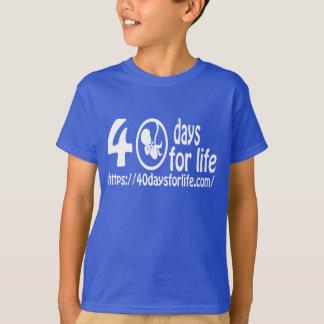 来られる40DAYSFORLIFE.COMは生命を擁護します! Tシャツ