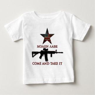 来られるMolon Labeは-それを取り、 ベビーTシャツ