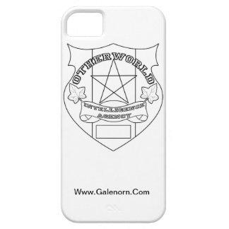 来世の情報機関の電話箱 iPhone SE/5/5s ケース
