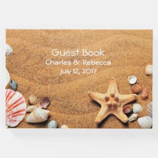 来客名簿を結婚する貝殻 ゲストブック