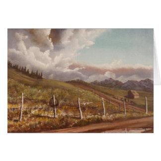 東からのコロラドスプリングス カード