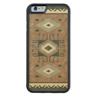 東のアクセントのヴィンテージのペルシャ人パターン CarvedメープルiPhone 6バンパーケース
