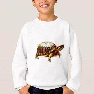 東のアメリカハコガメはスエットシャツをからかいます スウェットシャツ