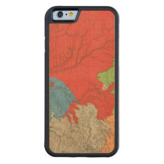 東のアリゾナおよび西部のニューメキシコ CarvedメープルiPhone 6バンパーケース
