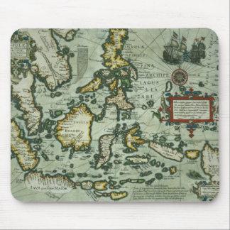 東のインディの地図、パブ。 アムステルダム(haの1635年 マウスパッド