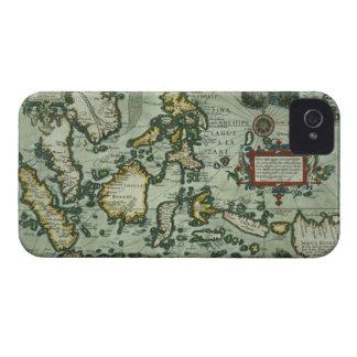 東のインディの地図、パブ。 アムステルダム(haの1635年 Case-Mate iPhone 4 ケース