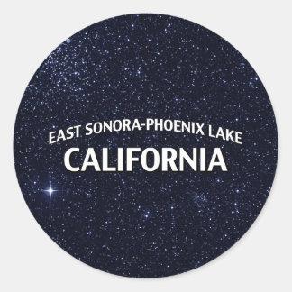 東のソノラフェニックス湖カリフォルニア ラウンドシール