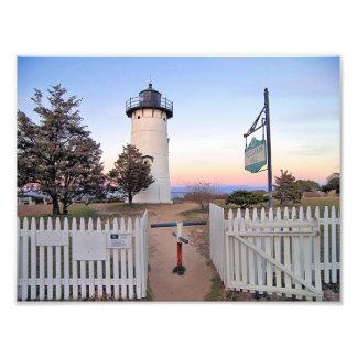 東のチョップの灯台、マサチューセッツ写真 フォトプリント
