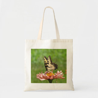 東のトラのアゲハチョウの蝶バッグ トートバッグ