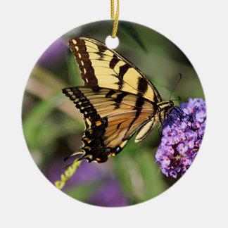 東のトラのアゲハチョウの蝶プロフィール セラミックオーナメント