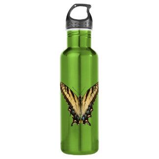 東のトラのアゲハチョウの蝶ボトル ウォーターボトル