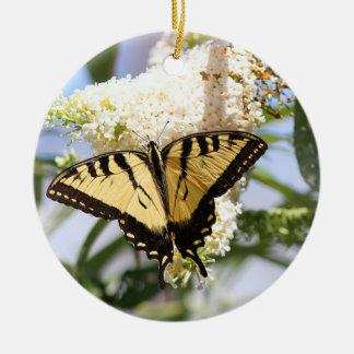 東のトラのアゲハチョウの蝶 セラミックオーナメント