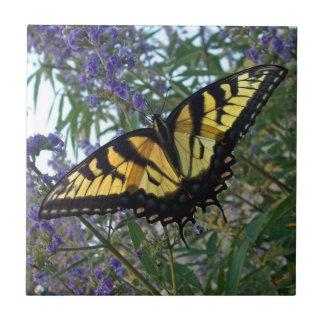 東のトラのアゲハチョウの蝶 タイル