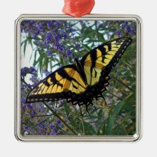 東のトラのアゲハチョウの蝶 メタルオーナメント