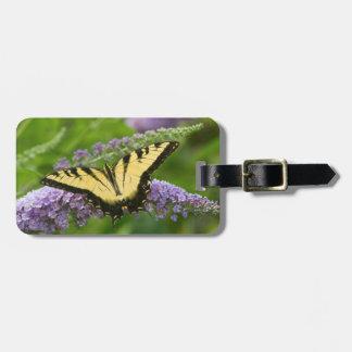 東のトラのアゲハチョウの蝶 ラゲッジタグ