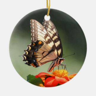 東のトラのアゲハチョウ セラミックオーナメント