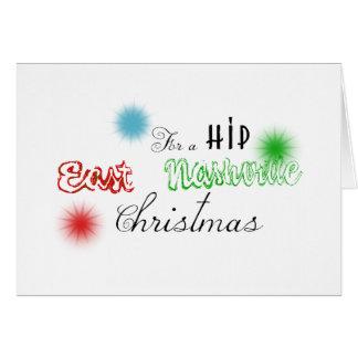 東のナッシュビルによってカスタマイズクリスマスのデカール カード
