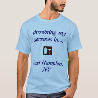 東のハンプトンのNYの飲むワイシャツ! Tシャツ