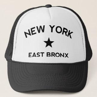 東のブロンクスニューヨークのトラック運転手の帽子 キャップ