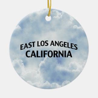 東のロサンゼルスカリフォルニア セラミックオーナメント