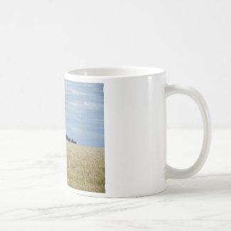 東のワシントン州の小麦畑 コーヒーマグカップ