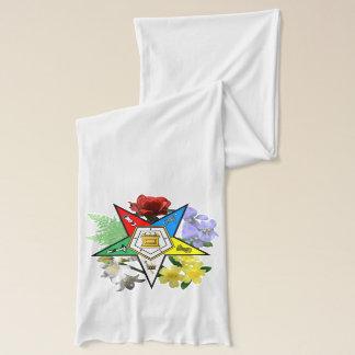 東の星の花柄のスカーフ スカーフ