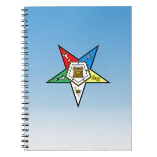 東の星の青のOES順序 ノートブック