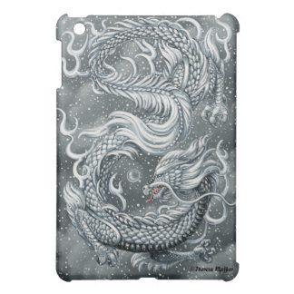 東の雪のドラゴンのiPadの場合 iPad Miniケース