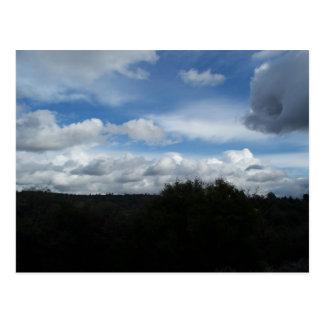東の雲 ポストカード