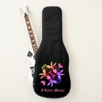 東の顔デザイナーアコースティックギターのバッグ、場合 ギターケース