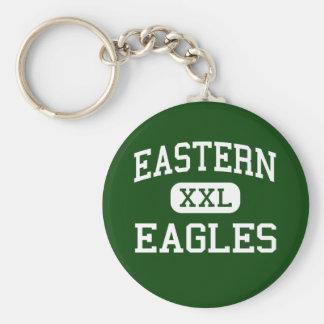 東の-イーグルス-高等学校- Reedsvilleオハイオ州 キーホルダー