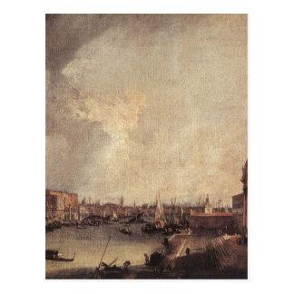 東のCanalettoを見る大運河への入口 ポストカード