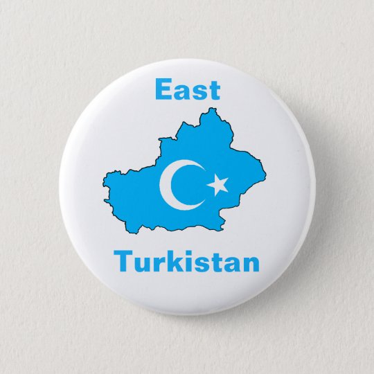 東のTurkistan 5.7cm 丸型バッジ