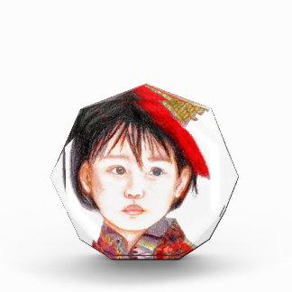 東アジアの子供 表彰盾