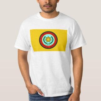 東バンドチェロキー旗、米国 Tシャツ
