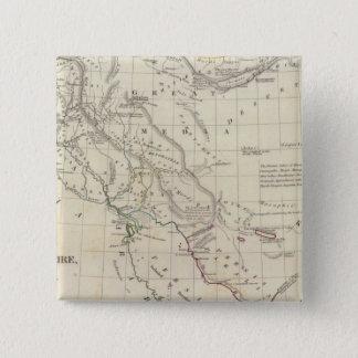 東ペルシャ帝国 5.1CM 正方形バッジ