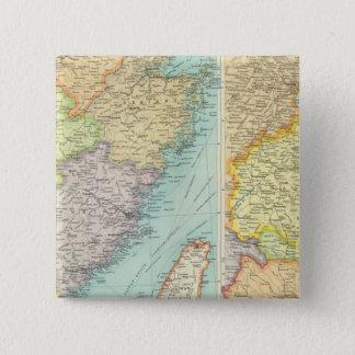 東中国の政治地図 缶バッジ