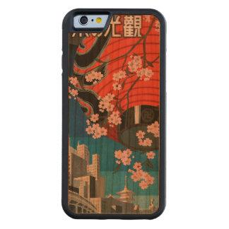 東京に来られる CarvedチェリーiPhone 6バンパーケース