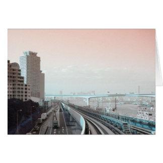 東京の眺め カード
