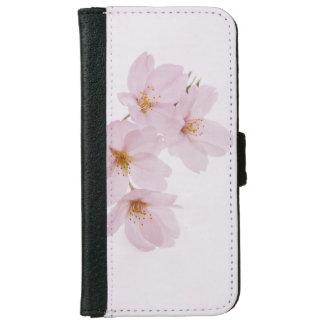 東京の美しい春の桜 iPhone 6/6S ウォレットケース