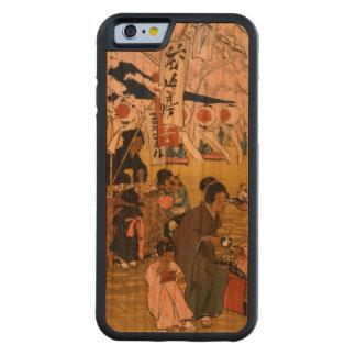 東京の花の時間 CarvedチェリーiPhone 6バンパーケース