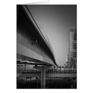 東京の跨線橋 カード