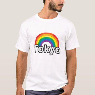 東京プライドの虹- .PNG Tシャツ