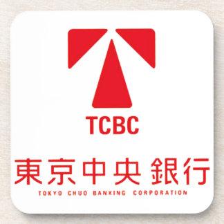 東京中央銀行コースター コースター