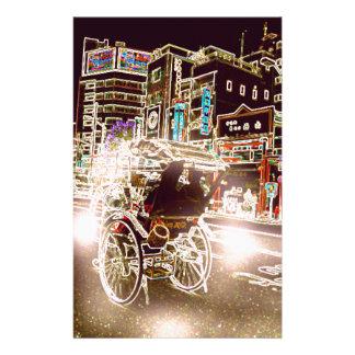 東京人力車夜 便箋