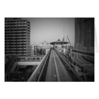 東京列車の棚 カード