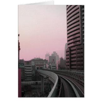 東京列車トラック カード
