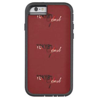 東京悪鬼のIPhoneの赤い箱 Tough Xtreme iPhone 6 ケース