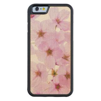 東京日本の桜の花 CarvedメープルiPhone 6バンパーケース