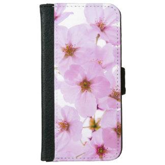 東京日本の桜の花 iPhone 6/6S ウォレットケース